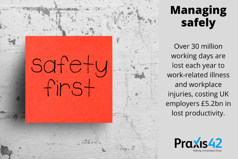 IOSH Managing Safely Course - infographic