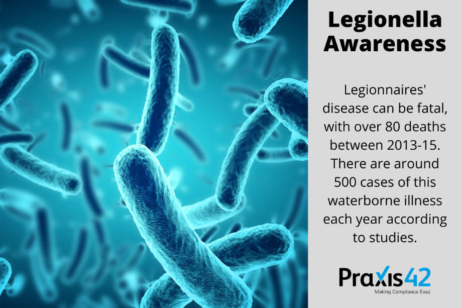 Legionella Awareness Training - Infographic