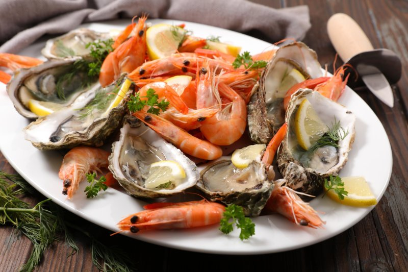 At-risk groups such as older people are advised not to each high-risk foods such as shellfish.