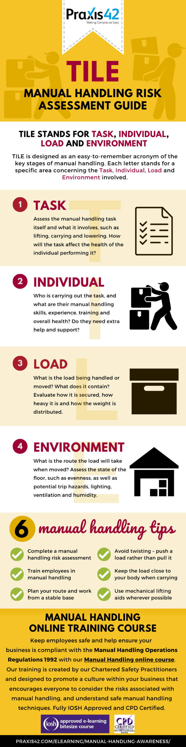 What does TILE and LITE stand for infographic - Praxis42