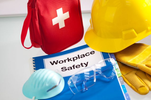 Workplace safety is a key management priority