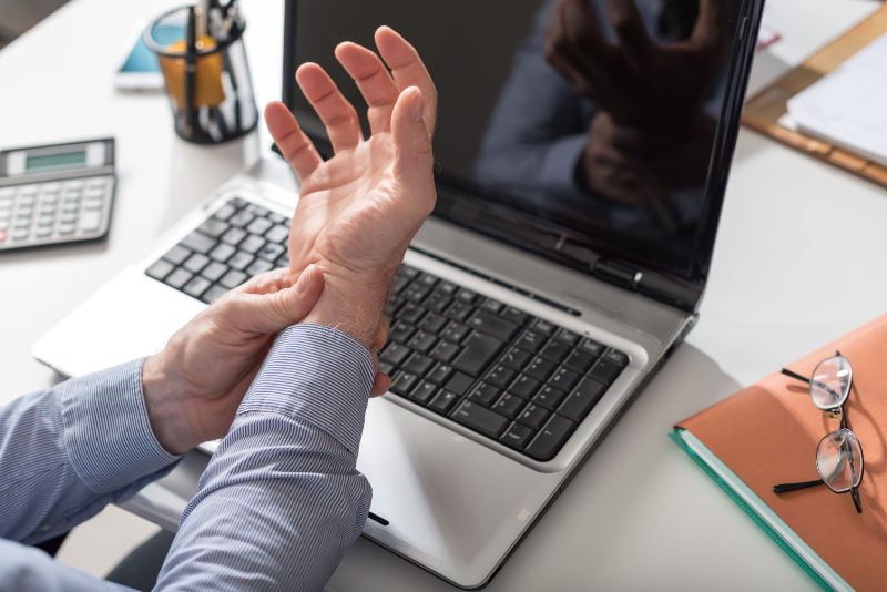Carpal tunnel syndrome is a workplace injury that can affect employees