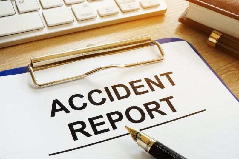 Ensure all accidents and incidents are reported and investigated.